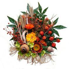 "Az ""ősz színei"" – szárazvirág koszorú Wreaths, Fall, Home Decor, Autumn, Decoration Home, Door Wreaths, Fall Season, Room Decor, Deco Mesh Wreaths"