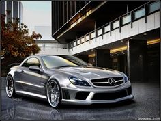 Mercedes-Benz SL65 AMG Black Series Brabus Tuned