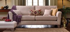 Slender arms and cosy seat cushions make this 3 seater sofa the perfect spot to relax in your home. 3 Seater Sofa, Corner Sofa, Sofa Bed, Seat Cushions, Cosy, Snug, Sofas, House Ideas, Relax
