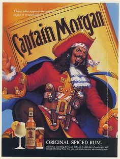 1994 Captain Morgan Original Spiced Rum Pirate Art Print Ad -Drink Responsibly