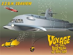 Voyage to the Bottom of the Sea by kennetzel, via Flickr