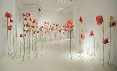 Sculpture installation by Jannick Deslauriers
