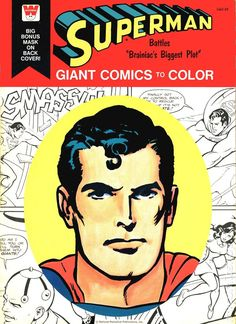 whitman superman coloring book - Yahoo Image Search Results