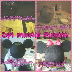 DYI Minnie Mouse Pinata