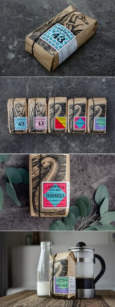 Lindfield Coffee Works Roastery and Coffee Bar — The Dieline - Branding & Packaging Design