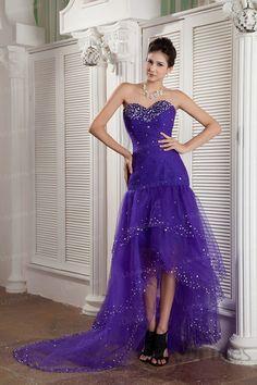 Trumpet/mermaid Sweetheart Satin Net Crystal Prom Dress