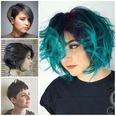 Chic Peinados para Caras Redondas para el año 2017 //  #2017 #año #caras #Chic #para #Peinados #redondas