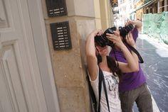 Nacho y Nuria en el V Maratón Fotográfico Ciudad de Málaga