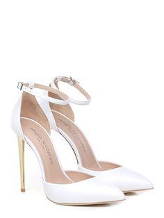Wedding Shoes Bride, White Wedding Shoes, Wedding Shoes Heels, Prom Heels, Pumps Heels, Stiletto Heels, Sock Shoes, Cute Shoes, Me Too Shoes
