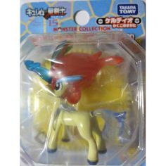 "Pokemon 2012 Keldeo Resolution Forme Tomy 2"" Monster Collection Plastic Figure Clear Movie Version"