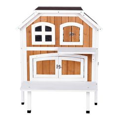 TRIXIE 2-story Cat Cottage - 17392898 - Overstock - The Best Prices on Trixie Pet Products Cat Furniture - Mobile