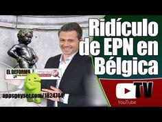Ridículo de EPN en Bélgica
