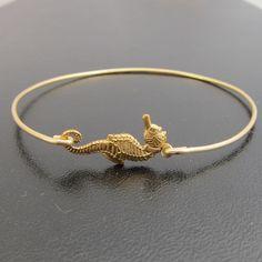 Seahorse Bangle Bracelet.