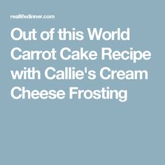 Out of this World Carrot Cake Recipe with Callie's Cream Cheese Frostingcheese frosting Special Bread Recipe, Banana Bundt Cake, Rich Cake, Cake Recipes From Scratch, Carrot Recipes, Homemade Vanilla, Cream Cheese Frosting, Sweet Bread, Dessert Bars