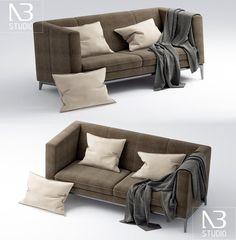Esta semana los dejamos con este excelente par de sillones, cortesía de Ngoc Bau, artista 3D del estudio de visualización vietnamita NB Studio.