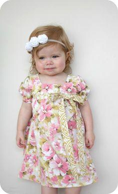 the Nora dress free tutorial