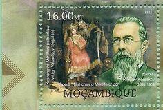 Stamps of Rimsky-Korsakov  Mozambique
