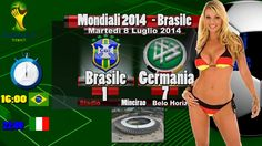Brasile Germania 1-7 2014 Video Tabellino Mondiali