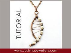 Wire Jewelry Tutorial Wirewrapping Jewelry by JustynaJewellery