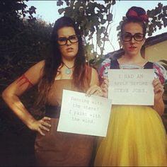 Hipster Disney Princess Costumes #halloween