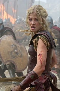 Rosamund Pike talks Wrath of the Titans