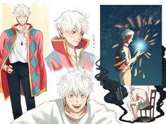 Anime Guys, Manga Anime, Anime Art, Anime Crossover, Howls Moving Castle, Anime Boyfriend, Studio Ghibli, Manhwa, Art Reference