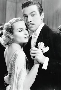 Carole Lombard and Cesar Romero in Love Before Breakfast (1936)