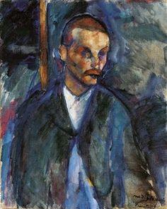 Le mendiant de Livourne By Amedeo Modigliani