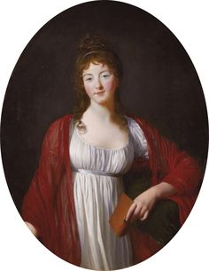 Portrait of Diane Adélaïde de Simiane (c.1800). Unknown (French school). Oil on canvas.