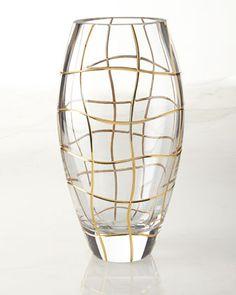 Magic Night Vase by Rogaska at Horchow.