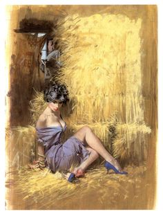 """Robert McGinnis """"The Girl Who Cried Wolf"""" (1960) by Hillary Waugh gameraboy: """" 1960 _ Dell D 338 by uk vintage on Flickr. The Girl Who Cried Wolf (1960) by Hillary Waugh. Cover art by Robert McGinnis. This is the final cover of the book, plus scans..."""