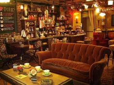 "Central Perk, ""Friends""... been there ;) well, to the set. haha"