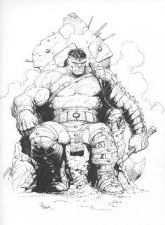 Hulk by Gary Frank Comic Art
