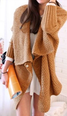 Chunky knit (but with trousers)