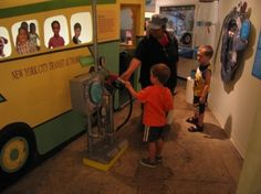 New York Transit Museum with kids