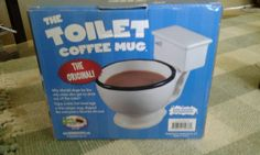 THE ORIGINAL  (THE TOILET COFFEE MUG) | Collectibles, Decorative Collectibles, Mugs, Cups | eBay!