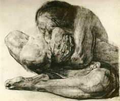 Woman with Dead Child, 1903 Kathe Kollwitz - WikiPaintings.org