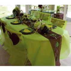Nappe en intissé vert anis - rouleau de 120 cm x 10 M