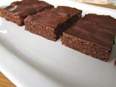 Homemade Chocolate Banana Power Bars – Vegan, Grain Free, Dairy Free