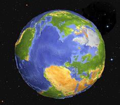 ¡La Tierra! ...nuestro hermoso planeta y hogar!!!