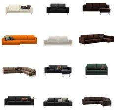 Bo Concept Sofa Boconcept, Architectural Digest, Decor Pad, Interior Architecture, Interior Design, Sofa, Upholstered Furniture, Basement, Sweet Home