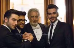 Il Volo e Placido Domingo a Firenze