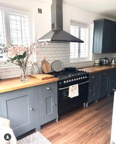 This stunning kitchen belongs to Jill over Jill's Kitchen Renovation tips think about plug sockets - we wish we had added more (in the island) take your time. We waited before making decisions and kept getting more money off the Home Renovation, Home Remodeling, Country Kitchen, New Kitchen, Kitchen Decor, Kitchen Grey, Basement Kitchen, Kitchen Ideas, Kitchen Wood