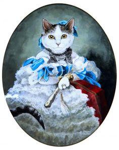 Countess Varvara Alekseyevna Musina-Pushkina (Franz Xaver Winterhalter) by Susan Herbert