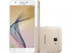 Smartphone Samsung Galaxy J7 Prime 32GB Dourado - Dual Chip 4G Câm 13MP + Selfie 8MP Flash Tela 5.5