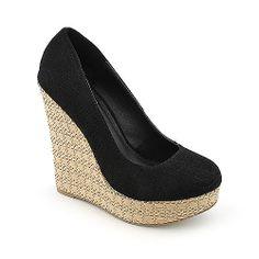 release date 4b798 45991 Shiekh Women s Glow-S Wedge Dress Shoe