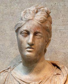Portrait of a Roman woman, Capitoline Museums, Rome.