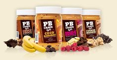 PB Crave offers four mouthwatering, natural peanut butter blends — each mixing many of your favorite flavors with premium peanut butter — for a new twist on an old classic.