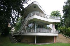 Villa Schminke, Lobau, Germany. Architect: Hans Scharoun, 1933 - Pesquisa do Google
