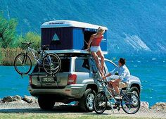 Roof Top Tent - Subaru Forester Owners Forum Car Top Tent, Top Tents, Roof Top Tent, Car Camper, Camper Caravan, Camper Van, Camping Glamping, Camping Hacks, Camping Store